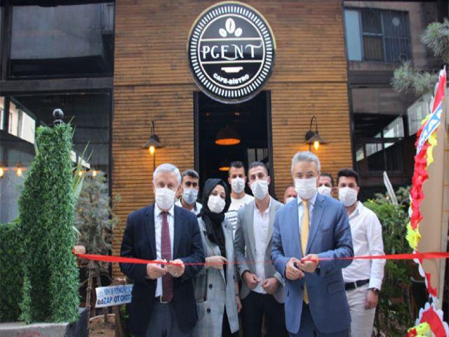 Hakkari'de Pgent Cafe Bistro hizmete açıldı