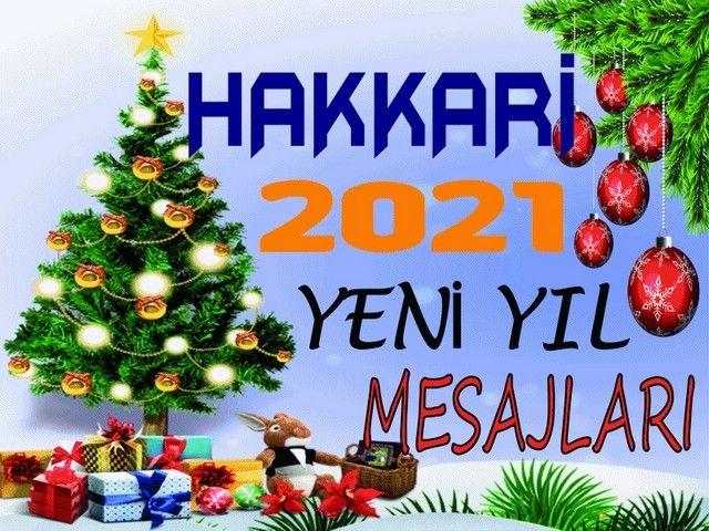 Hakkari Yeni Yıl Mesajları - 2021