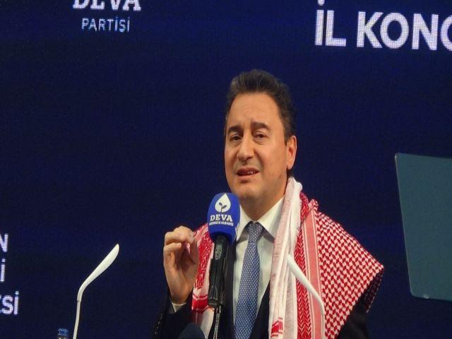 Babacan Hakkari'de konuştu