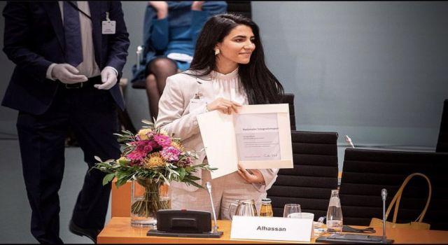 Almanya'dan Kürt kadına 2020 Ulusal Entegrasyon Ödülü
