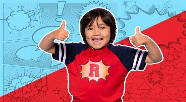 YouTube'un en çok kazananı 9 yaşındaki Ryan: Yılda 29,5 milyon dolar