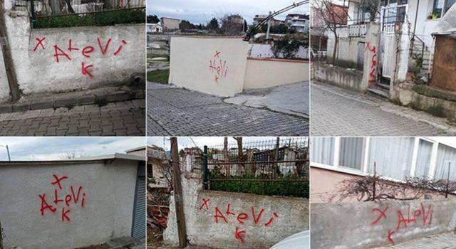 Yalova'da Alevi ailelerin evleri işaretlendi