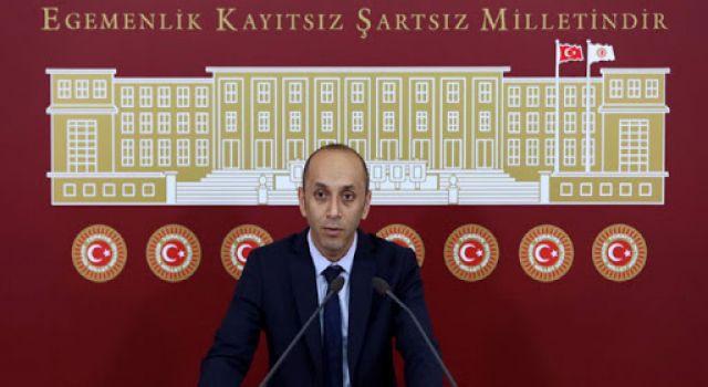 HDP Milletvekili Dede, TBMM'de basın toplantısı düzenledi
