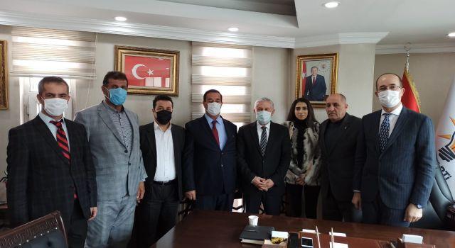 Başkan Büyüksu'dan Özbek'e tebrik ziyareti