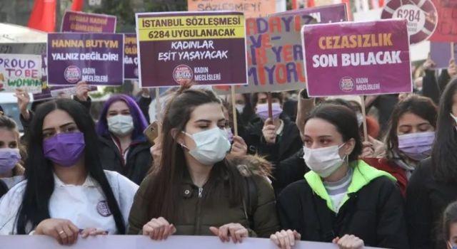 Kadınlar İstanbul Sözleşmesi için sokakta: Sözleşmenin her maddesini uygulayacaksınız