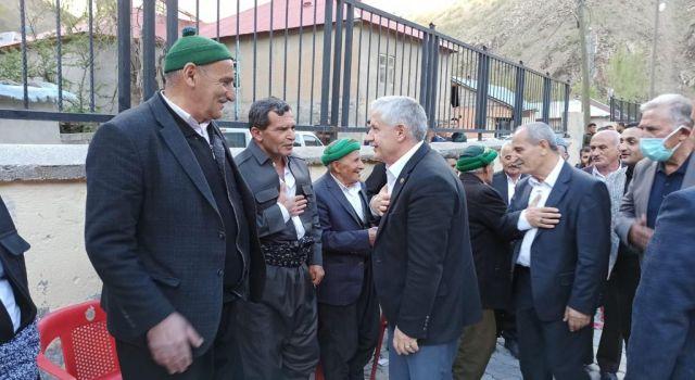 Başkan Özbek'ten köy ziyaretleri