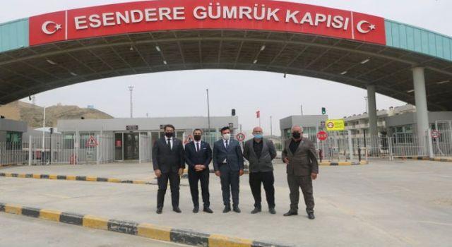 Hakkari'deki oda başkanlarından Esendere Sınır Kapısı için çağrı