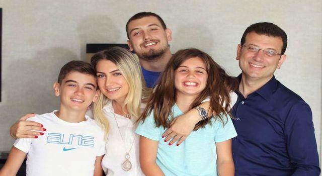 İmamoğlu'nun eşi ve 2 çocuğu Covid-19'a yakalandı