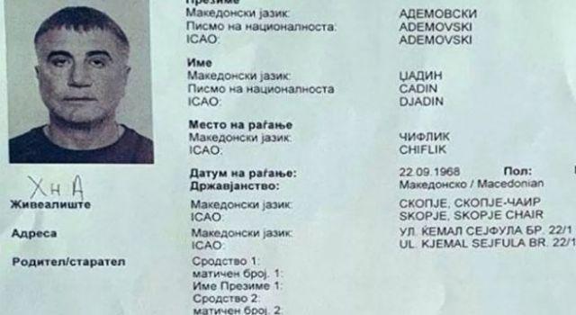Sedat Peker'in Makedonya'da sahte evrakla ikamet ettiği ortaya çıktı
