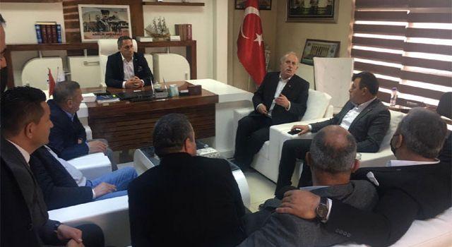 STK temsilcileri ve Kanaat önderlerinden Çallı'ya nezaket ziyareti