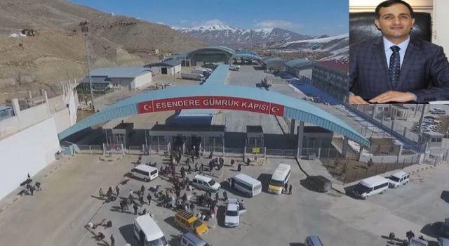 Ak Parti MKYK Üyesi Tarhan'dan sınır kapısı teşekkürü