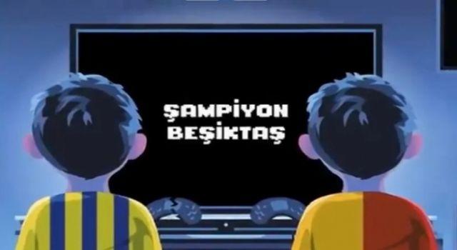 Beşiktaş'tan Galatasaray ve Fenerbahçe'ye mesaj: Oyun bitti çocuklar şimdi gerçekler