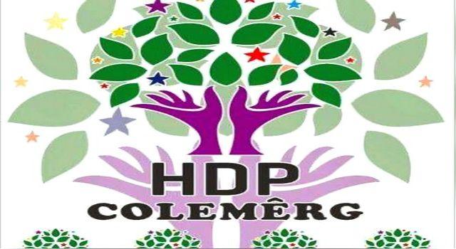 """Colemerg HDP'den """"1 Mayıs"""" kutlama mesajı"""