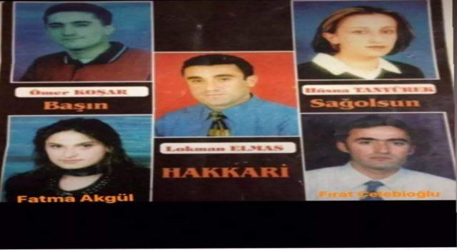 Hakkari'de 22 yıl önce şüpheli trafik kazasında ölen 5 can anıldı