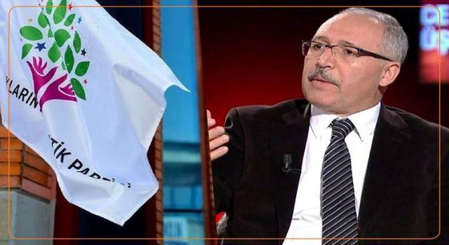 HDP'den Abdulkadir Selvi'ye yalanlama