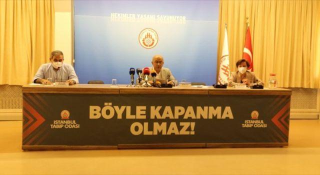 İstanbul Tabip Odası: Türkiye'de sağlık sistemi çöktü, bir ayda 21 sağlık çalışanı hayatını kaybetti