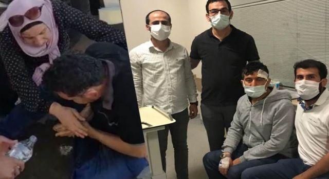 Mersin'de saldırıya uğrayan aile Erbil'e geri döndü
