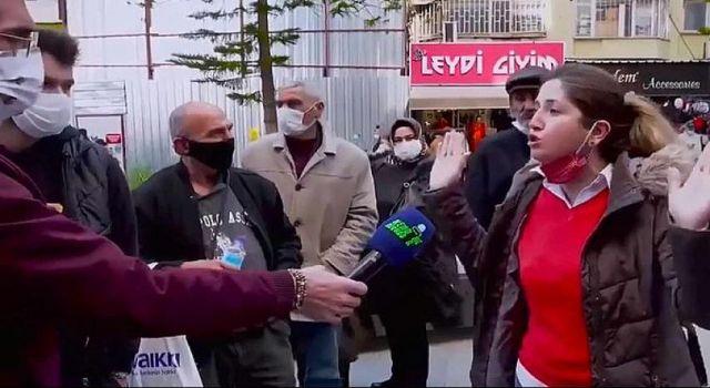 Sokak röportajında 'Kul hakkı yiyenlerin memleketinde yaşıyoruz' diyerek iktidarı eleştiren Sümeyya Avcı gözaltına alındı