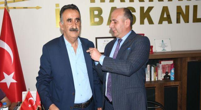 CHP Hakkari Merkez İlçe Başkanlığına Taş atandı