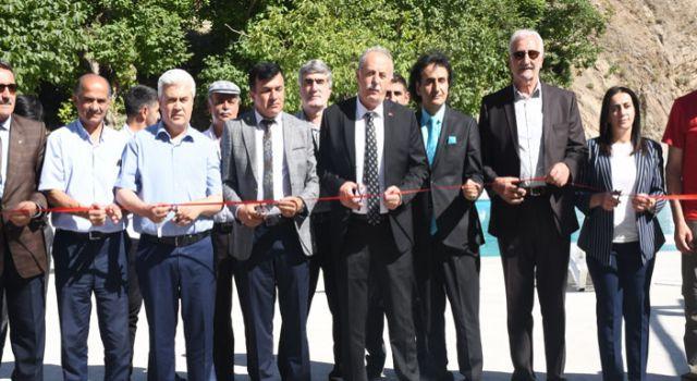 Hakkari'de Depin Tatil Köyü açıldı