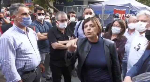 HDP'li Beştaş: Kızımız öldürüldü siz boş çadırı koruyorsunuz, bu çadır buradan kalkacak