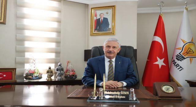 Ak Parti İl Başkanı Muttalip Özbek'in Kurban Bayramı Mesajı