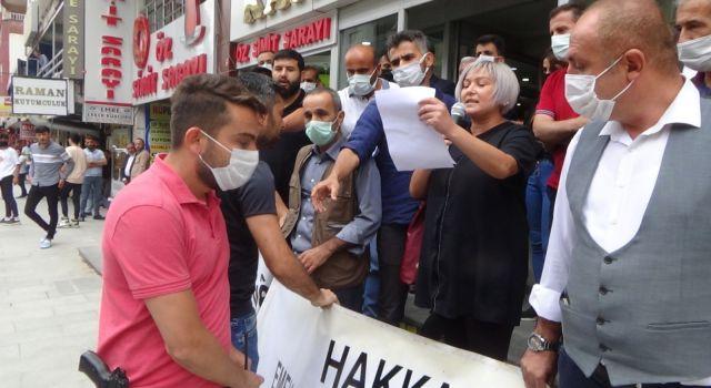 Hakkari'deki STK'ların Konya'daki ırkçı saldırıya ilişkin yapmak istediği açıklamaya polis izin vermedi