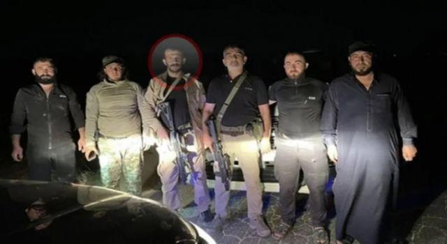 Suriye'de silahlı poz veren MHP'li ilçe başkan...