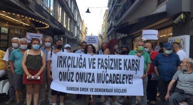 Samsun'da Kürtlere yönelik ırkçı saldırılara tepki