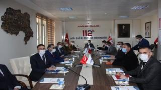 Hakkari'de 'Risk Azaltma Planı' bilgilendirme toplantısı yapıldı