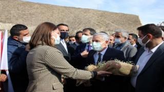 Başkan Özbek'e Ankara dönüşü görkemli karşılama