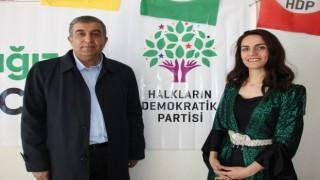 HDP'nin Hakkari İl Eş Başkanlığına Lokman Özdemir ve Hümeyra Armut seçildi