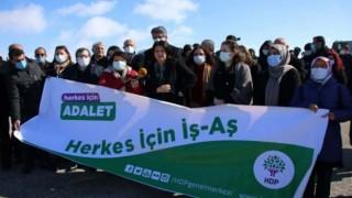HDP'nin 'İş ve Aş Buluşmaları'na polis engeli