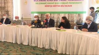 Kürtçenin resmi ve eğitim dili olması için kampanya başlatıldı
