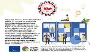 """YUKADER'in """"Cinsiyet Eşitliği Projesi"""" 2 Dilde Tanıtıldı"""