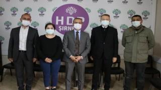 Avustralya'nın Ankara Büyükelçisi, HDP Şırnak İl Başkanlığı'nı ziyaret etti