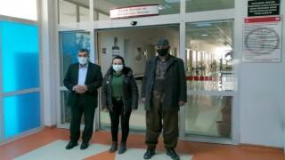 Colemerg HDP'den hasta ziyareti