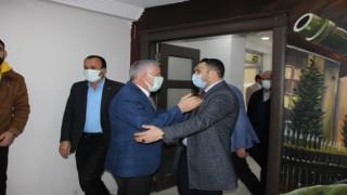 Kanaat önderi Atlı'dan Başkan Özbek'e tebrik ziyareti
