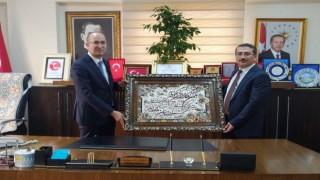 Başsavcı Çınar'dan Başkan Büyüksu'ya ziyaret