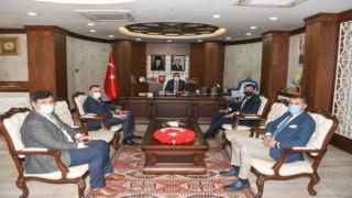 DAKA Genel Sekreteri Güray Vali Akbıyık'ı ziyaret etti