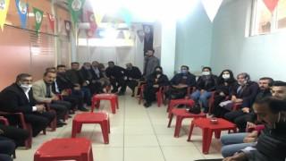 HDP İl Eş Başkanlarından Şemdinli'ye ziyaret