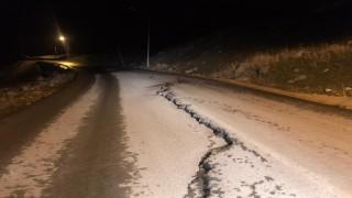 Sürücülerden Otluca'daki yol tahribatına tepki