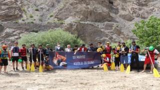 Hakkari'de rafting ve bisiklet etkinliği