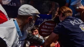 Ankara'ya yürümek isteyen Suruç ailelerine müdahale: 5 gözaltı