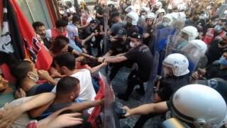 Suruç Katliamı'nın 6. yıldönümünde Kadıköy'de anma: Polis müdahale etti