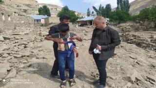 Başkan Aydoğdu sel felaketinin yaşandığı bölgeye gitti