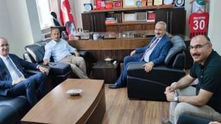 Belediye Başkanlarından Başkan Büyüksu'ya geçmiş olsun ziyareti