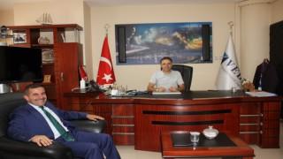 Kanaat Önderi Fırat'tan Müdür Eroğuz'a ziyaret