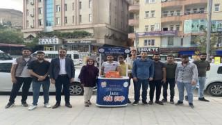 AK Parti Hakkari Gençlik Kolları Üye Standı Kurdu