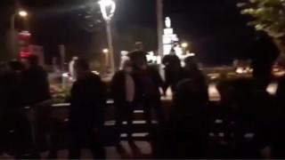 Barınamıyoruz' diyen öğrencilere polis saldırdı